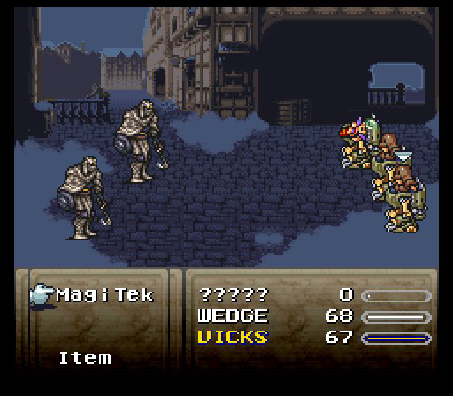 The FF6 Combat State.