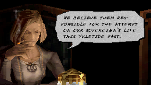 The textbox from Vagrant Story.