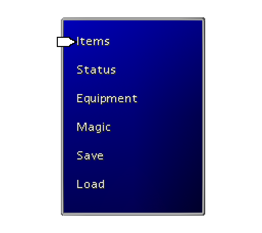 Better aligned magic menu options.
