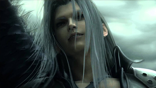Sephiroth, one winged angel.