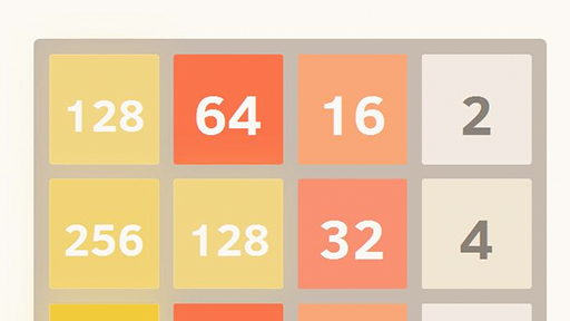 The tile matching game 2048.