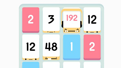The tile matching game Threes.