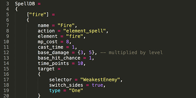 Code snippet.