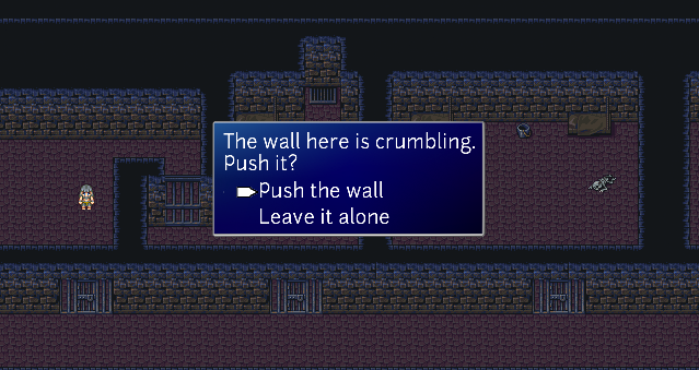 Take part in questions and escape a dungeon.