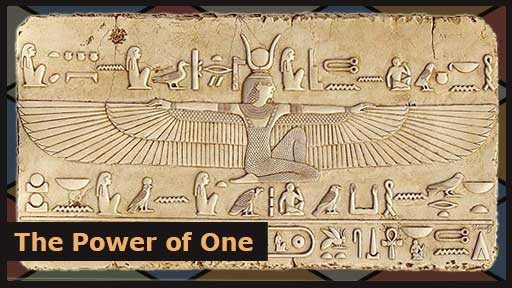 Isis, the god that tricked Ra into revealing his true name.